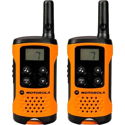 Motorola TLKR T41, Walkie-Talkie, orange