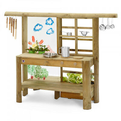Discovery Mud Pie Kitchen Sensory Sustainable Timber Outdoor Toys Paint Nature