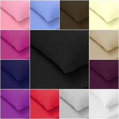 200TC 100% Egyptian Cotton Fitted Sheet Flat Sheet Single Double King S King