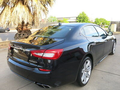 2016 Maserati Quattroporte GTS 2016 Maserati Quattroporte GTS 3.8 damaged rebuildable salvage wrecked 16 QP