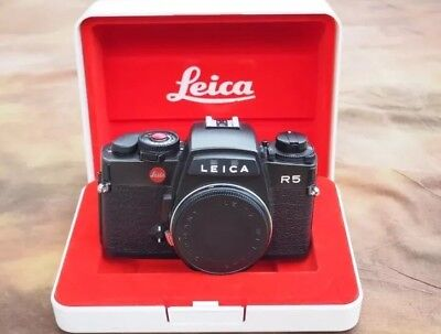 Leica R5 SLR film camera Body. Works perfectly. Very good condition.