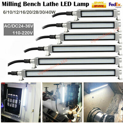 CNC Machine LED Light Industrial Workshop Lamp Lighting 6/10/12/16/20/28/30/40W