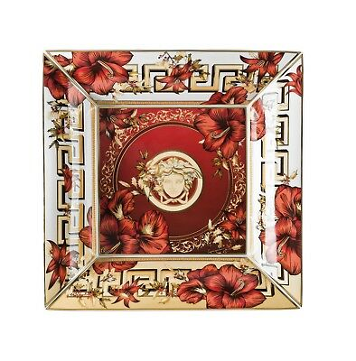 14240-409944-25828 Rosenthal - Versace / Christmas Blooms / coppa / porcellana