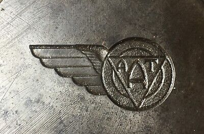Vintage TAA Trans Australia Airlines Badge Die Original Stokes Mould Rare