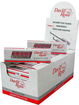 David Ross Filter Display 36*10 Stk. Zigarettenspitzen