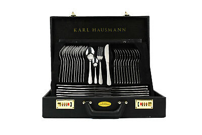 72 PCs Stainless Steel Cutlery Set Case Dining Utensils Tableware Canteen Gift
