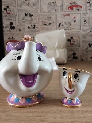 Beauty And The Beast Disney Mrs Potts And Chip