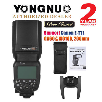 Yongnuo YN600EX-RT II HSS Wireless Master Flash Speedlite for Canon Camera UK