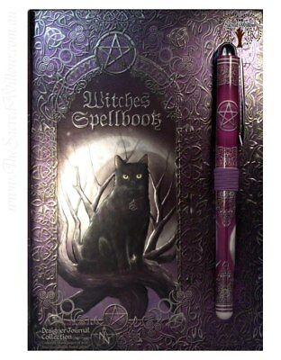 Witches Spellbook Journal 17.5 x 12.5cm Luna Lakota Spell Book of Shadows