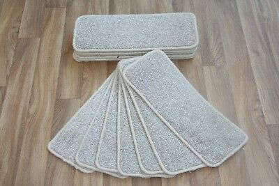 14 Carpet Stair case Treads Sector Stain-Free Large Carpet Stair Pads