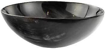 Carved Horn Ritual Bowl 13cm ~ Altar OFFERING BOWL Wicca Pagan Witch Goth