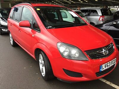 63 Vauxhall Zafira 1.6 Vvt 115 Exclusive Spares Or Repair H/gasket, Drives