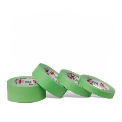 SOLL high performance automotive Green masking tape painting-refinishing 1 pc.