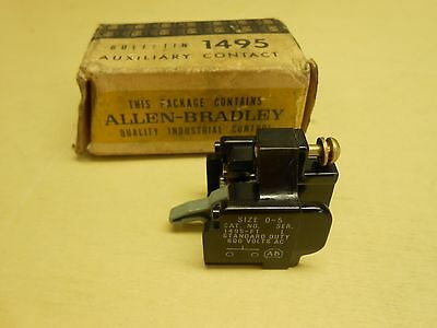 Allen-Bradley Auxiliary Contact Bulletin 1495-F1 , Series L