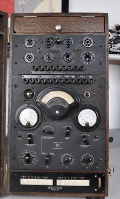 Weston Oq-3 / 788 Navy Tube Tester, Analyzer