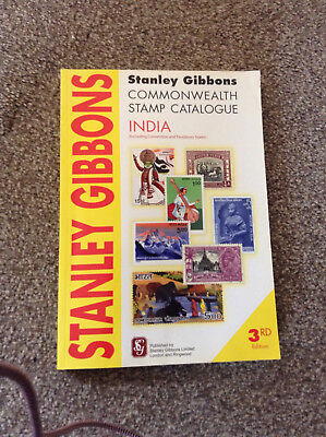 STANLEY GIBBONS commonwealth stamp catalogue INDIA (including C & F states.