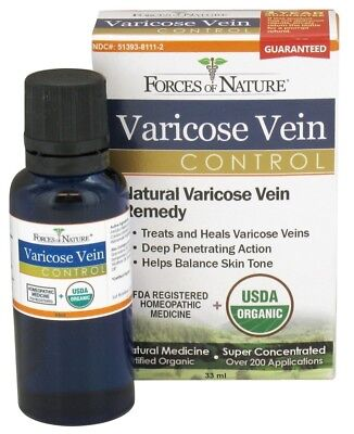Forces of Nature - Varicose Vein Control - 33 ml.