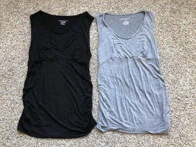 Liz Lange Maternity Nursing Tanks/Tops -Medium/Small LOT