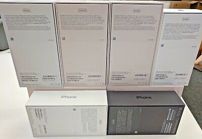For Apple iPhone X 8 8+ Retail Box Only Original iPhone 8 8 Plus No Accessories