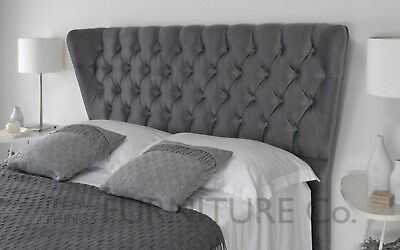 Bronte Upholstered Floor Standing Headboard Various Sizes Colours Plus Swatch