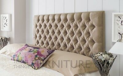 Maida Floor Standing Headboard Various Sizes and Colours Plus Swatch