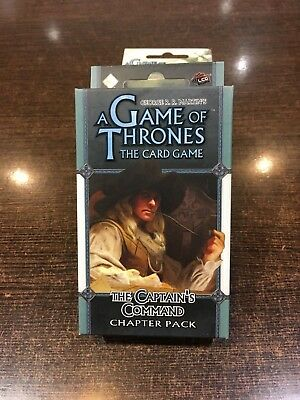 A Game of Thrones THE CAPTAIN'S COMMAND Chapter pack Fantasy flight LCG