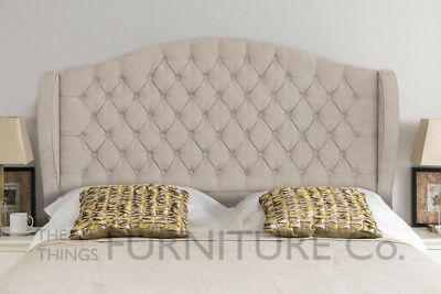 Cosenza Floor Standing Headboard Various Sizes and Colours Plus Swatch