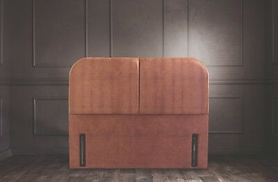 Abbey Signature Floor Standing Headboard Various Sizes and Colours Plus Swatch