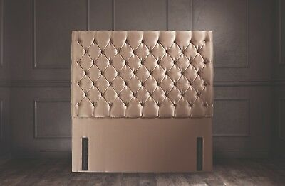 Chrystal Floor Standing Headboard Various Sizes and Colours Plus Swatch