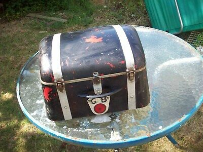 Vintage Motorcycle Top Box