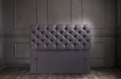 Lima Signature Floor Standing Headboard Various Sizes and Colours Plus Swatch