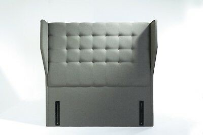 Luna Signature Floor Standing Headboard Various Sizes and Colours Plus Swatch