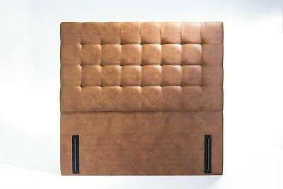 Viscount Floor Standing Headboard Various Sizes and Colours Plus Swatch