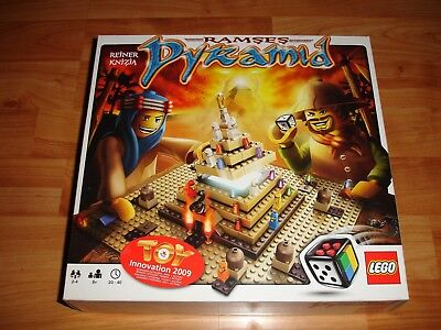 Lego Games 3843 Ramses Pyramid Board Game With Instructions