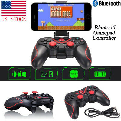 Bluetooth Gamepad Game Wireless Controller For Android iPhone TV Box Tablet PC