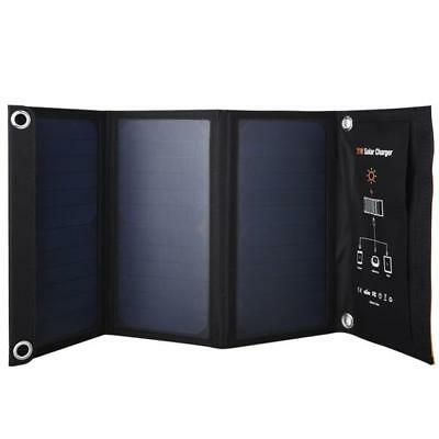 21W SunPower Bank™ - A Folding Solar Charger For Charging Devices On The Go