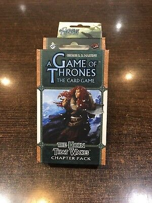 A Game of Thrones THE HORN THAT WAKES Chapter pack Fantasy flight LCG