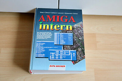 AMIGA Intern , ein DATA BECKER Buch, TOP / RAR