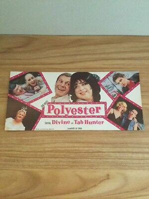 1981 Polyester John Waters Movie Odorama Scratch And Sniff Card