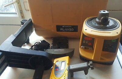Topcon Rl-Vh3D Rotating Laser Level With Spectra Precision Detector