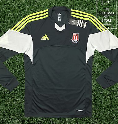 Stoke City FC Away Shirt - Genuine adidas Jersey - Long Sleeved - All Sizes