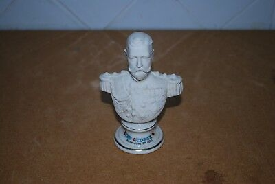 Rare Queen King George V  Bust Arcadian China