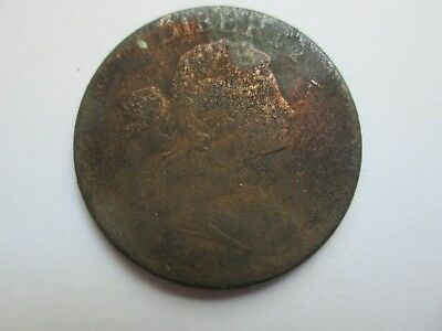 1801 Draped Bust Large Cent Cull Low Grade