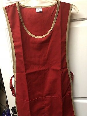 Superior Cobbler Apron w Two Front Pockets. Adj Snap/Straps On Both Sides. New
