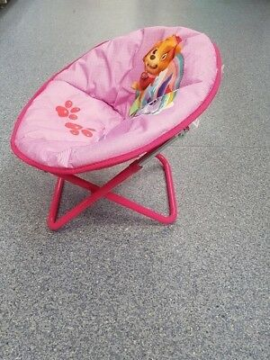 Allcam Disney Moon Chair Star Wars New Model kids Folding Round Soft Padded Chair for toddlers