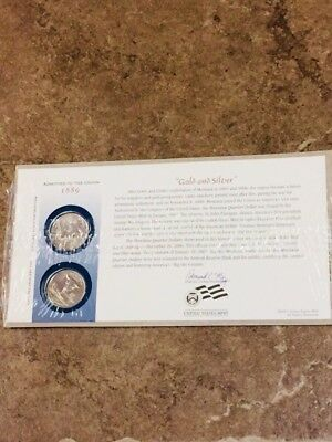 Admitted to the Union 1889 2 Coin Set