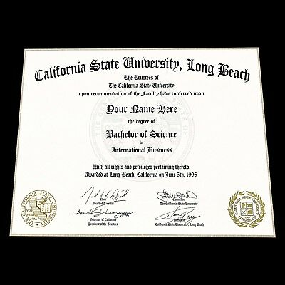 FAKE DEGREE, DIPLOMA, Certificate Made From Your Images! - $499.00 ...