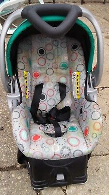 Baby Trend Travel EZ Ride5 Carseat / Carrier & Base Model TS40955 graco carters