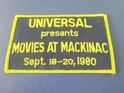 Sept. 18-20,1980, Universal Premier Mackinac Island Patch, Somewhere in Time