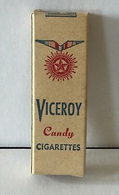 Vintage VICEROY 2-Candy Cigarettes with Box by  World Candies Brooklyn, New York